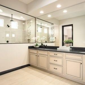 Bathroom Timeless Wilmington Coconut BlackGlaze Maple