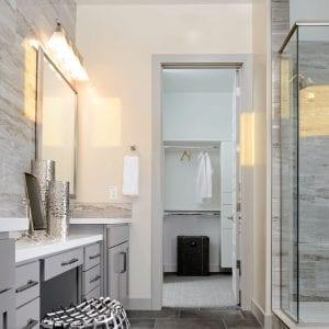 Bathroom Timeless Nantucket Stone Matte Maple