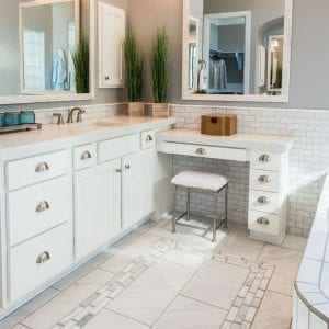 Bathroom Timeless Nantucket Coconut Matte Maple