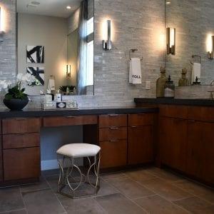 Bathroom Timeless Horizon Merlot None Maple