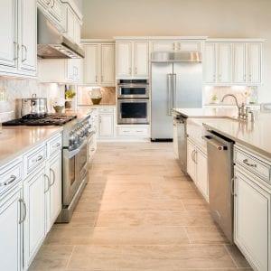 Kitchen Timeless Wilmington RegalWhite BlackGlaze Maple