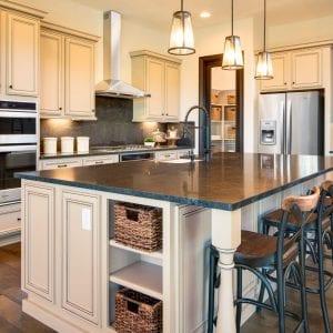 Kitchen Timeless Holister Taupe BlackGlaze Maple