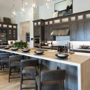 Kitchen Frameless Prairie Dusk Matte Maple