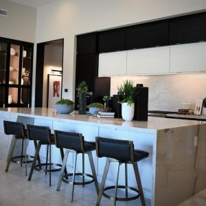 Kitchen Frameless Aries Maple Black White