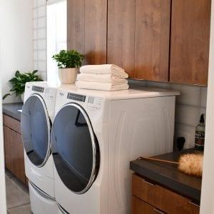 Custom LaundryRoom Frameless Aries Medium Alder