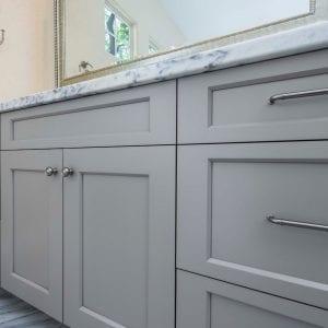 Bathroom Frameless Spirit Stone Maple