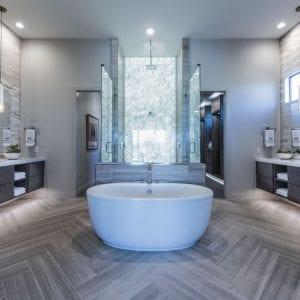Bathroom Frameless Aries Dusk None Alder