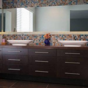Bathroom Frameless Aries CustomColor None Cherry