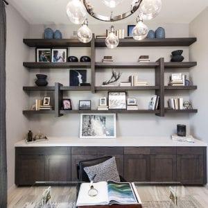 Office Timeless Cabinets Spirit Dusk Maple Shelves Maple