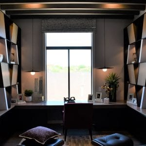 Custom Office Shelves Black RegalWhite None Maple Cabinets Horizon Black None Maple